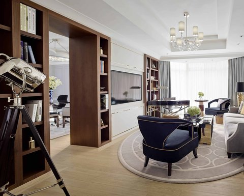 The Langham, Hong Kong - Director Suite - Living Room2