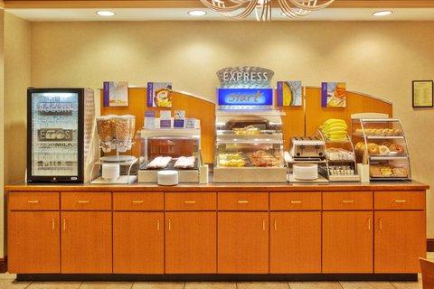 Holiday Inn Express & Suites ATLANTA N-PERIMETER MALL AREA - Breakfast Bar
