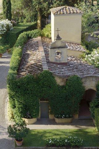 Villa La Massa - The Chapel - Vertical view