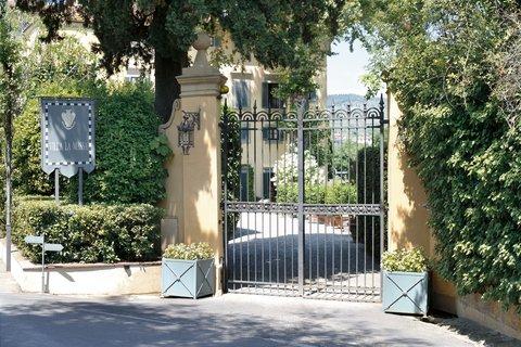 Villa La Massa - The Main Entrance of Villa La Massa