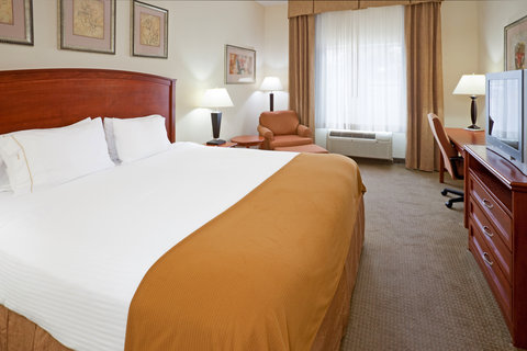 Holiday Inn Express & Suites DALLAS - GRAND PRAIRIE I-20 - King Bed Guest Room