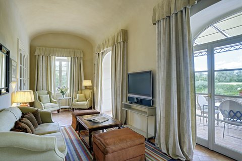 Villa La Massa - Presidential Suite - Living Room