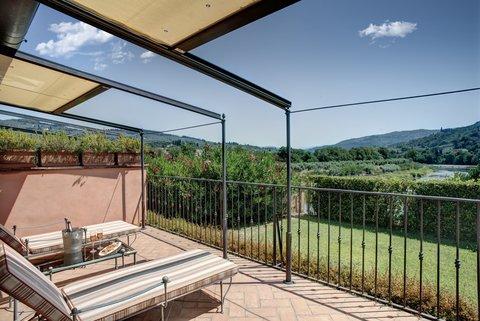 Villa La Massa - Suite Exclusive - Terrace