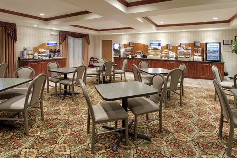 Holiday Inn Express Hotel & Suites Evanston - Breakfast Area