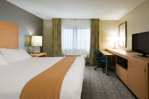 Holiday Inn Express Wheat Ridge-Denver West Hotel - ADA   accessible King Bed Guest Room