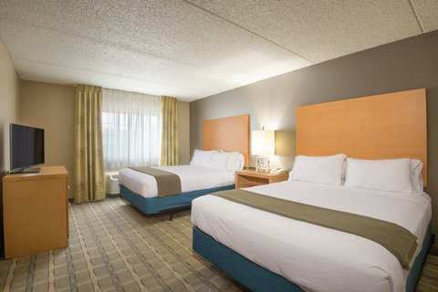 Holiday Inn Express Wheat Ridge-Denver West Hotel - ADA   accessible Two Queen Suite with roll-in shower
