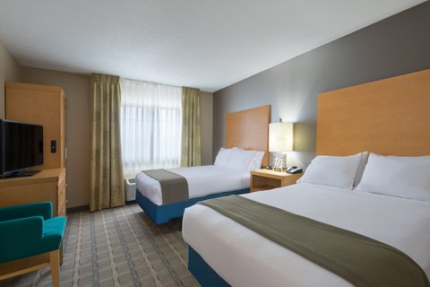 Holiday Inn Express Wheat Ridge-Denver West Hotel - ADA   accessible Two Queen Suite