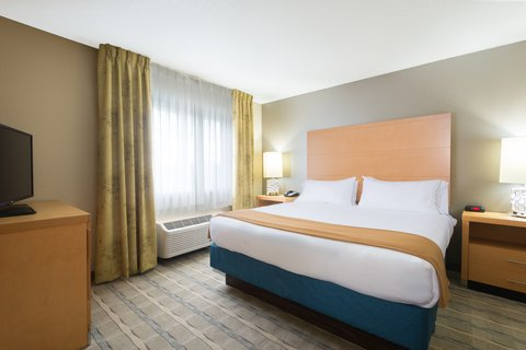 Holiday Inn Express Wheat Ridge-Denver West Hotel - Relax in our King Suite