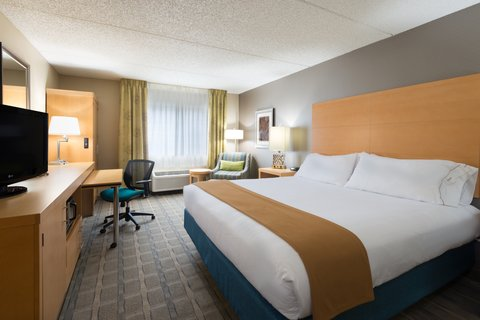 Holiday Inn Express Wheat Ridge-Denver West Hotel - Spacious and inviting King Guest Room