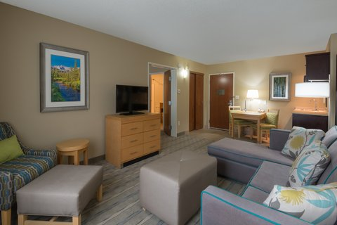 Holiday Inn Express Wheat Ridge-Denver West Hotel - Two Queen Suite provides the comfort of home