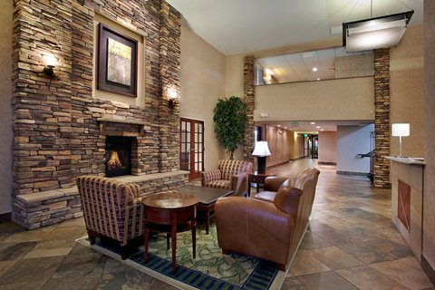 Holiday Inn Express Wheat Ridge-Denver West Hotel - Our lobby provides a great space to relax
