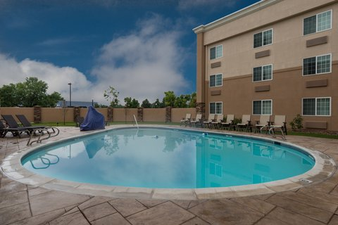 Holiday Inn Express Wheat Ridge-Denver West Hotel - Take a dip in our refreshing Swimming Pool
