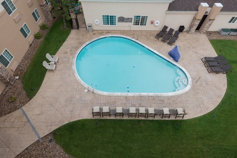 Holiday Inn Express Wheat Ridge-Denver West Hotel - An aerial view of our Swimming Pool