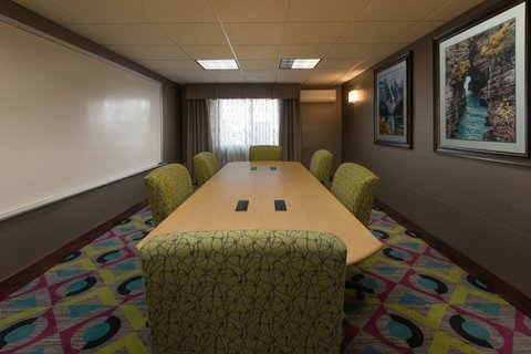 Holiday Inn Express Wheat Ridge-Denver West Hotel - Our Boardroom is perfect for a smaller meeting or conference