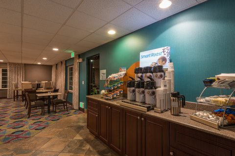 Holiday Inn Express Wheat Ridge-Denver West Hotel - Grab a fresh cup of coffee at our Breakfast Bar