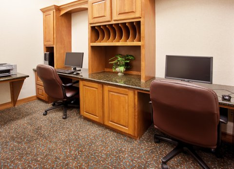 Holiday Inn Express Hotel & Suites Mansfield - Business Center