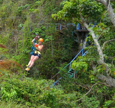 St. James Club All Inclusive Hotel - Antigua Ziplining