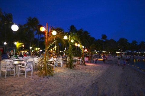 St. James Club All Inclusive Hotel - Full Moon Party at Beach