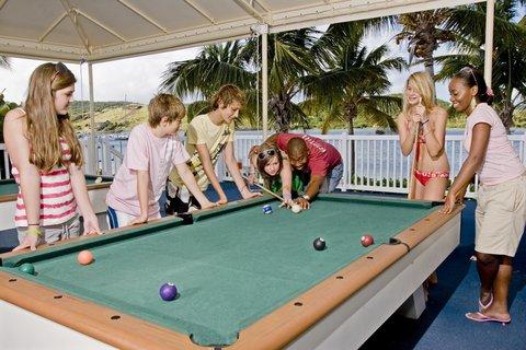 St. James Club All Inclusive Hotel - Kid s Club Teen Pool Table