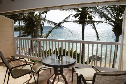 St. James Club All Inclusive Hotel - Beachfront Room Balcony