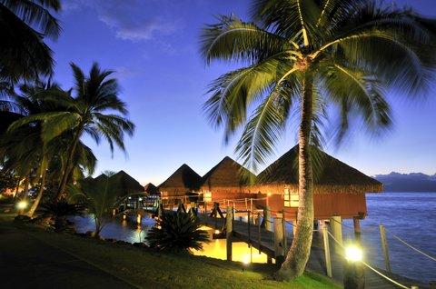 Intercontinental Resort Tahiti - Overwater Lagoon Bungalows