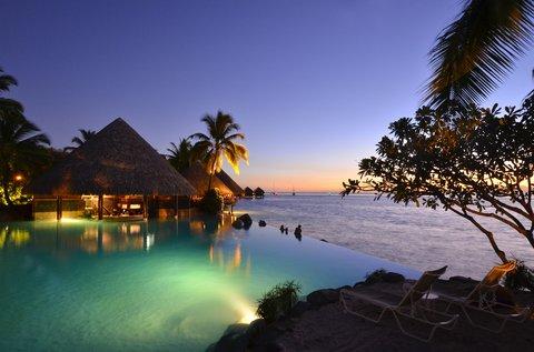 Intercontinental Resort Tahiti - Lotus Swimming Pool