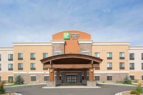 Holiday Inn Express & Suites GLENDIVE - Hotel Exterior