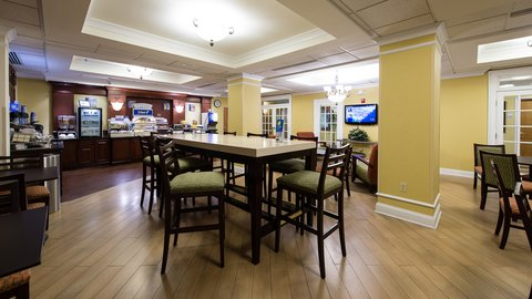 Holiday Inn Express & Suites COLUMBIA-I-26 @ HARBISON BLVD - Holiday Inn Express   Suites Breakfast   Dining Area