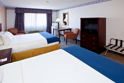 Holiday Inn Express ELKHART NORTH - I-80/90 EX. 92 - Queen Bed Guest Room