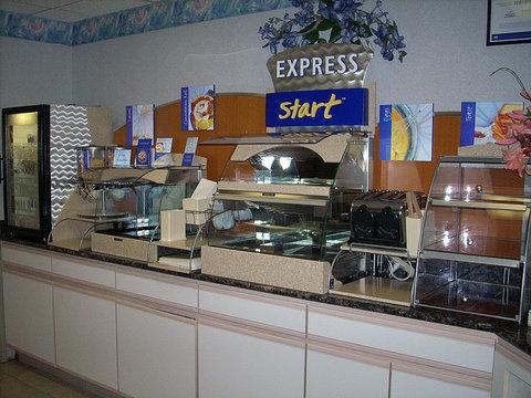 Holiday Inn Express ELKHART NORTH - I-80/90 EX. 92 - Breakfast Bar
