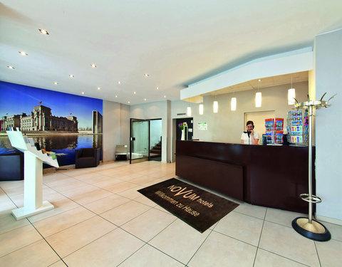 AGON Franke Hotel - Reception