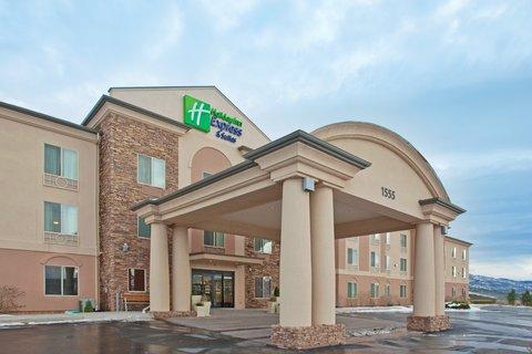 Holiday Inn Express & Suites CEDAR CITY - Hotel Exterior  Holiday Inn Express  Cedar City Utah