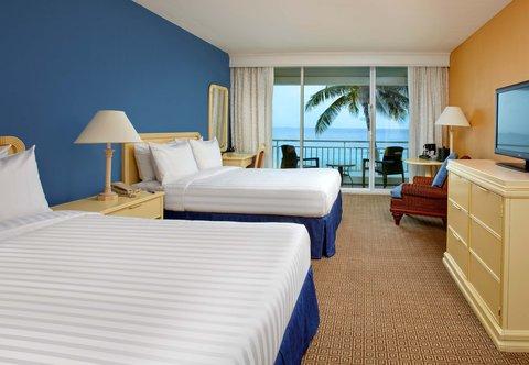 Curacao Marriott Beach Resort & Emerald Casino - Double Double Guest Room