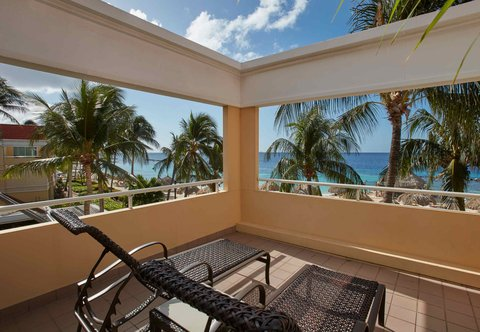 Curacao Marriott Beach Resort & Emerald Casino - Oceanfront Suite - Private Patio
