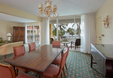 Curacao Marriott Beach Resort & Emerald Casino - Presidential Suite - Living Room