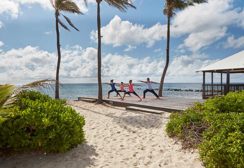 Curacao Marriott Beach Resort & Emerald Casino - Oceanfront Yoga