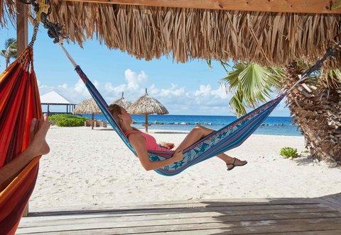 Curacao Marriott Beach Resort & Emerald Casino - Beach Hammocks