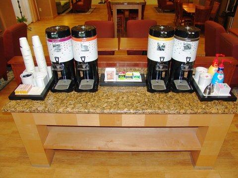Hampton Inn Garden City - Coffee Station