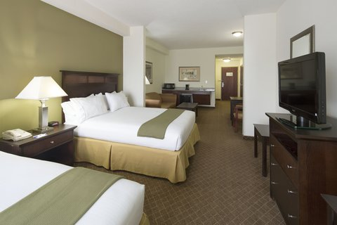 Holiday Inn Express & Suites GADSDEN W-NEAR ATTALLA - two queen accessible suite with queen size sofa bed