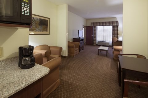 Holiday Inn Express & Suites GADSDEN W-NEAR ATTALLA - two room suite  Separate bedroom with tv  Spacious living area