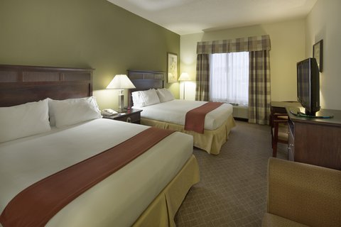 Holiday Inn Express & Suites GADSDEN W-NEAR ATTALLA - smoking two queen bed guest room