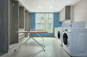 24 Hours Self-Service Laundry Room