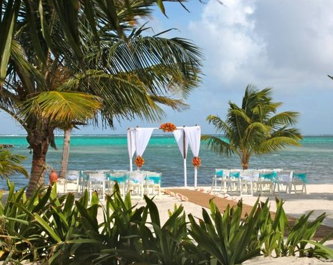 Las Terrazas Resort and Residences - Beach Wedding Setting