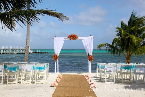 Las Terrazas Resort and Residences - Beach Wedding Ceremony