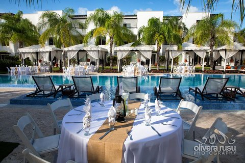 Las Terrazas Resort and Residences - Poolside Wedding Reception