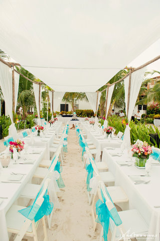 Las Terrazas Resort and Residences - Reception Dinner under the Tirzah