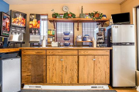 Rodeway Inn & Suites Landmark Inn - Breakfast