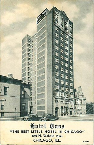 Holiday Inn Express CHICAGO - MAGNIFICENT MILE - Hotel Cass a Holiday Inn Express 1920 Postcard Photo