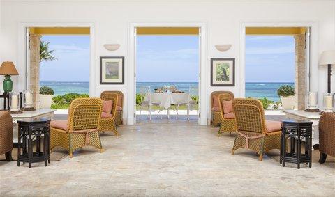 Tortuga Bay Hotel - Living Room Two Bedrooms Suite Ocean Front