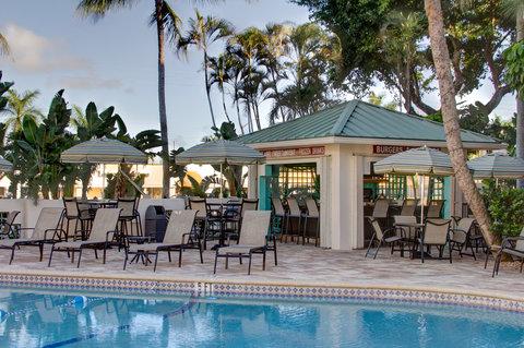 Boca Raton Plaza Hotel and Suites - Poolside Tiki Bar